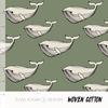 Elvelyckan Bio Cotton - whale Green