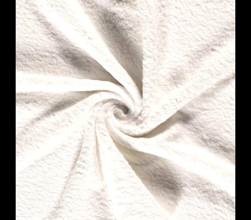 Cotton Fleece Ecru