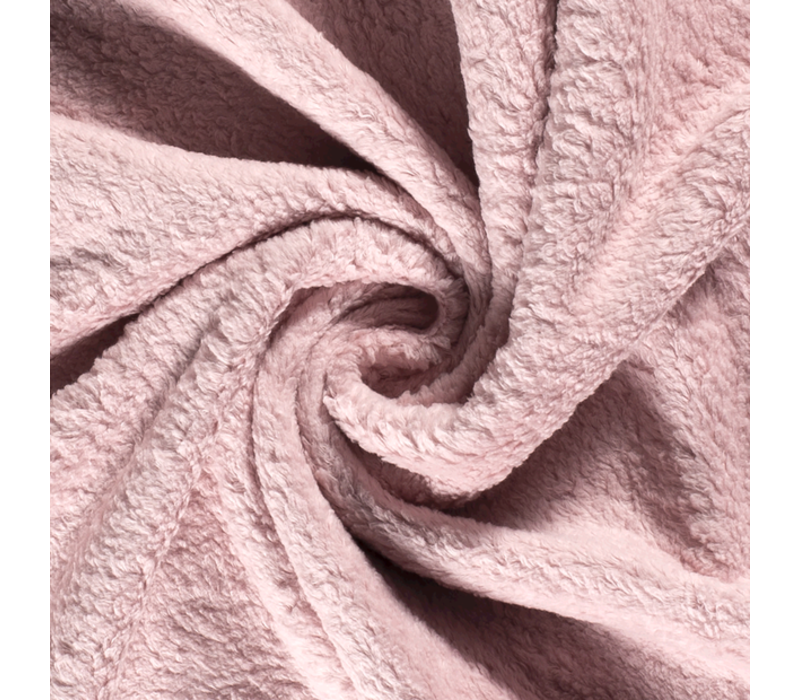 Cotton Fleece Soft Pink