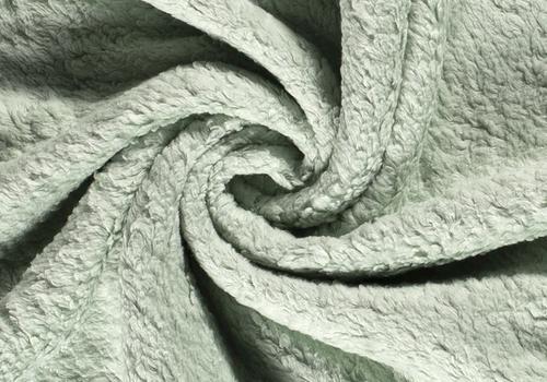 De Stoffenkamer Cotton Fleece Soft Sage