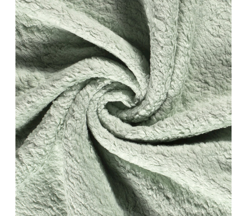 Cotton Fleece Soft Sage