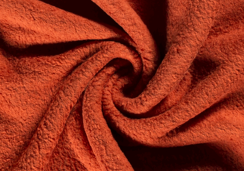 De Stoffenkamer Cotton Fleece Rust
