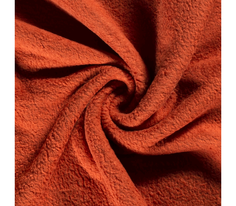 Cotton Fleece Rust