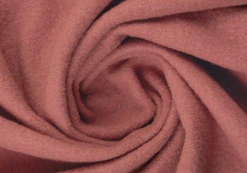 De Stoffenkamer Gekookte wol Dark Old Rose