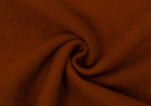 De Stoffenkamer Gekookte wol Gebrand Oranje