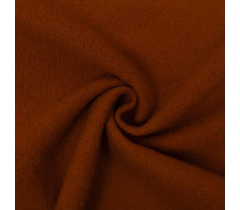 Gekookte wol Gebrand Oranje