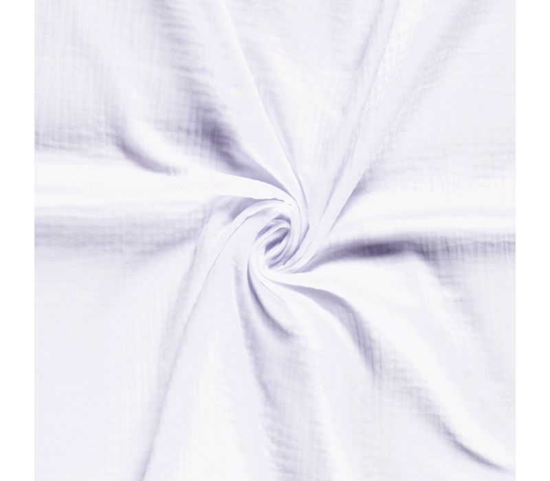 Double Gauze Tetra White
