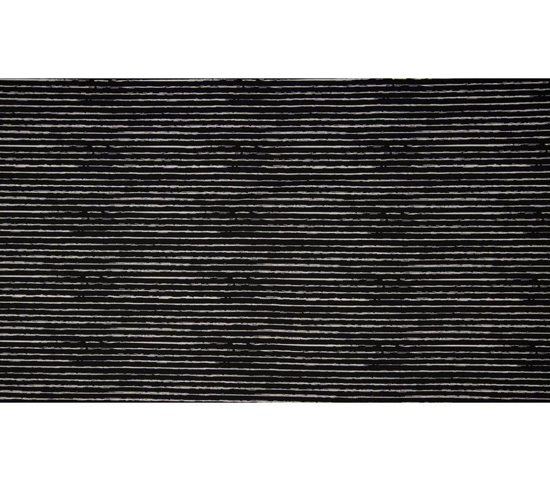 Cotton Stripes Black
