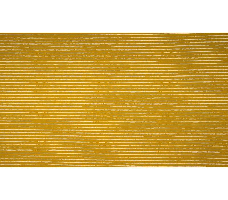 Cotton Stripes Oker