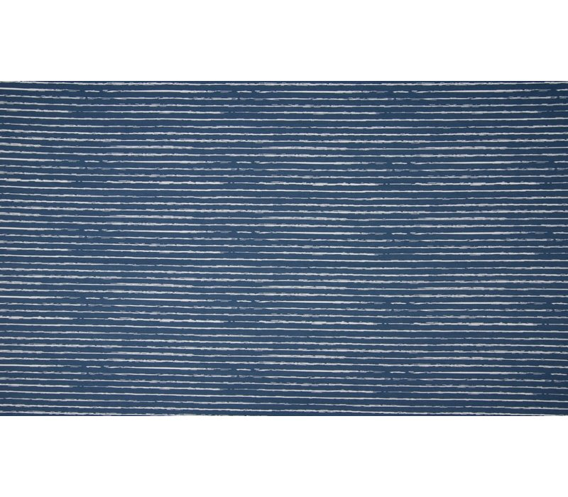 Cotton Stripes Denimblue