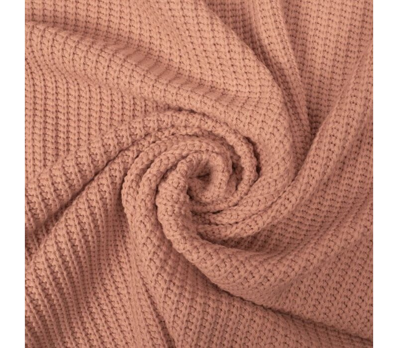 Sweater Cable Knit Blush