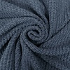 De Stoffenkamer Sweater Cable Knit Greyblue