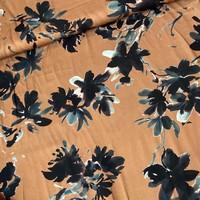 Blouse Viscose Oker Flowerfield Sage