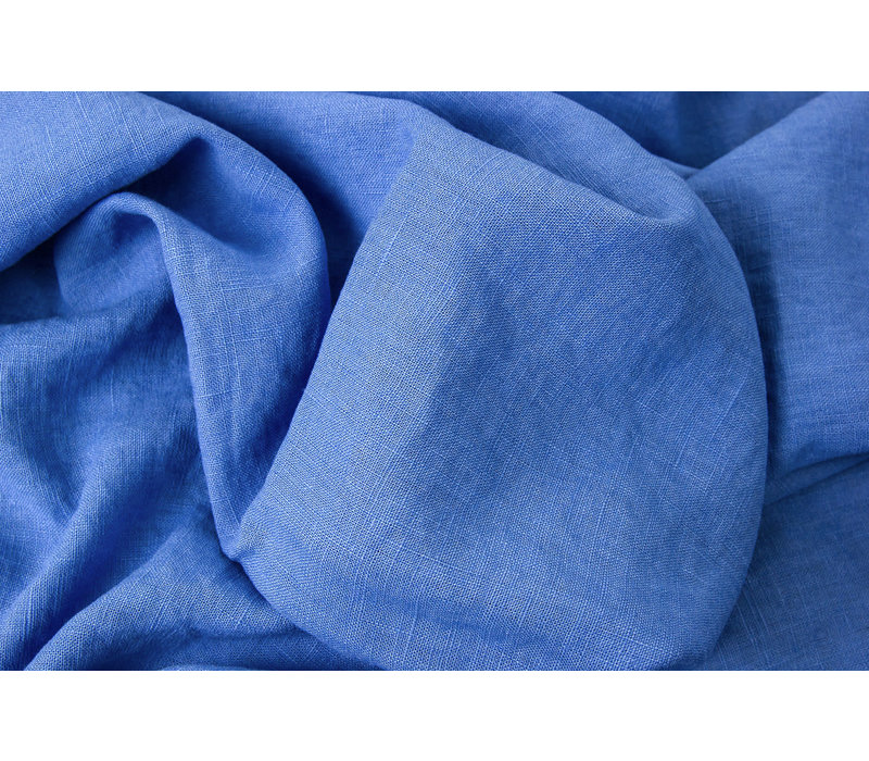 Washed Linen Midblue