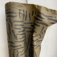 WET Oilskin Khaki Zebra