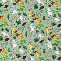 Cotton Sagegreen Safari
