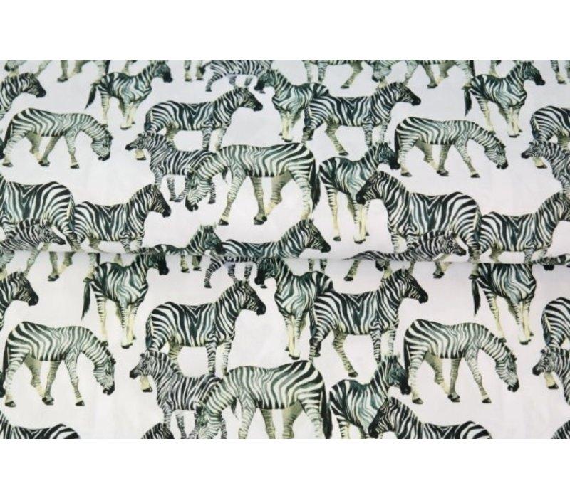 Cotton Digital Zebra