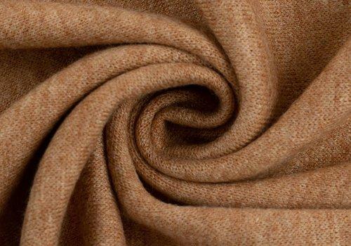 De Stoffenkamer Soft viscose sweater Washed Orange