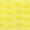 De Stoffenkamer Gelamineerd Katoen Geo Yellow
