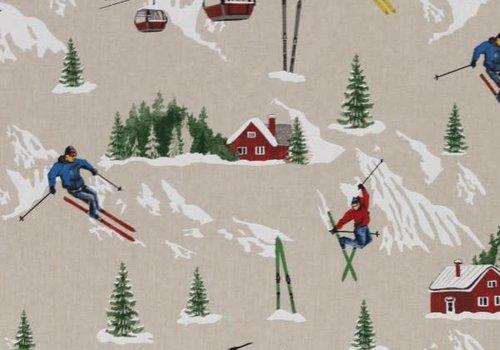 Canvas Ski