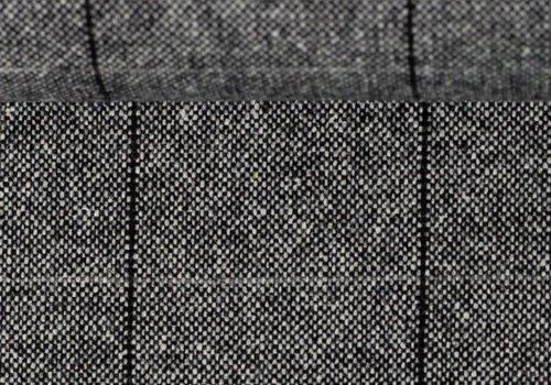 De Stoffenkamer Wol Mix Tweed Spicks Check Mono