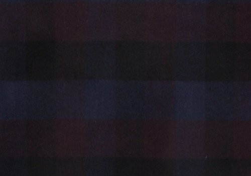 De Stoffenkamer Wol Mix Tweed Multi Checks Bordeaux