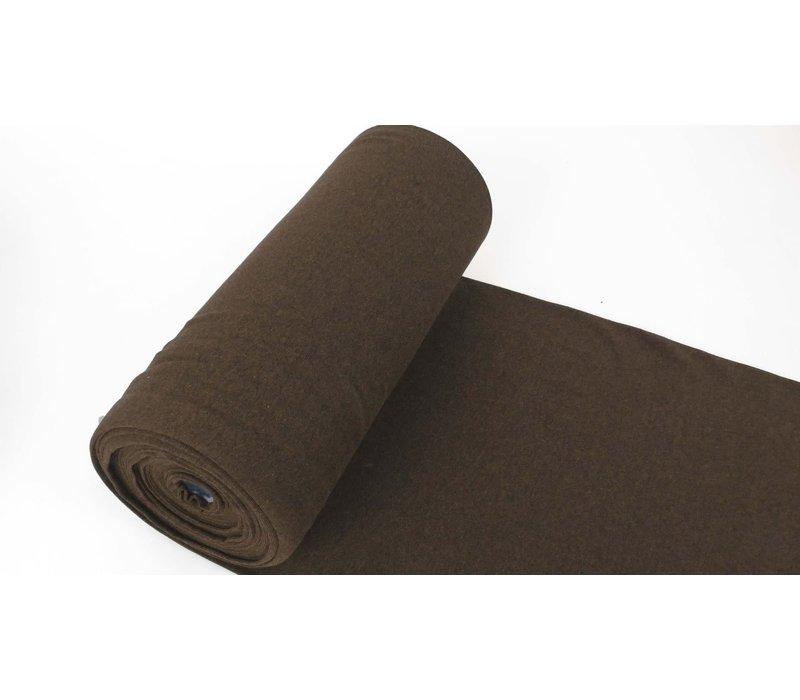 Boordstof 75cm Black Melange BROWN