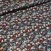 Editex Viscose rusty flowerfield