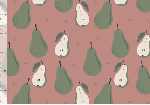 Elvelyckan Bio tricot - Pears Blush
