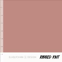 Bio Ribbed tricot - Blush
