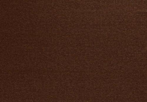 De Stoffenkamer Extra dik tricot - punta melange rust