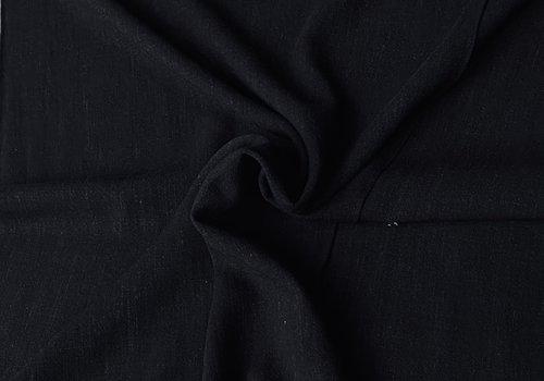 De Stoffenkamer Linen Mix Black