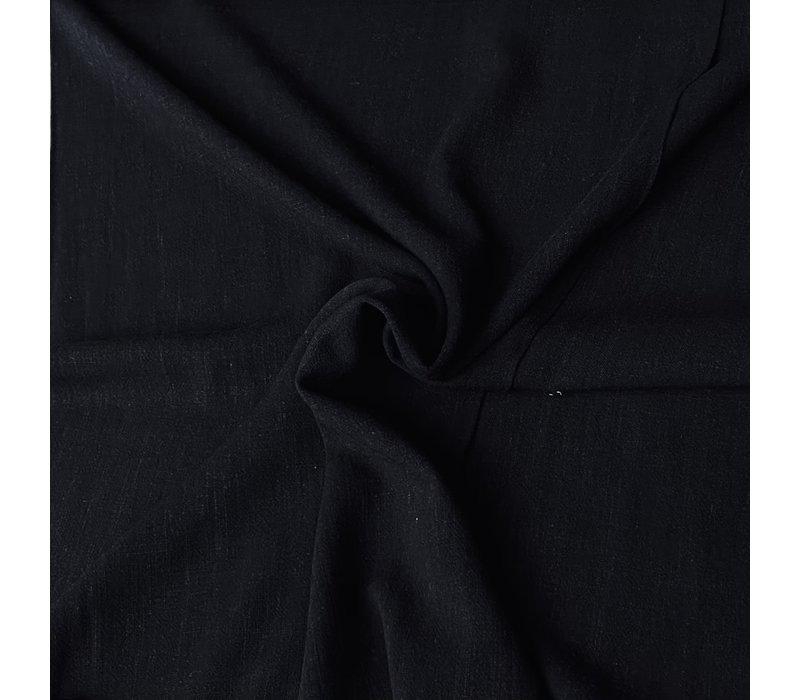 Linen Mix Black