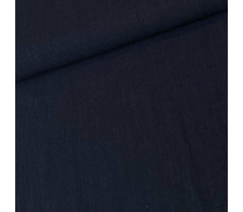Linen Mix Navy