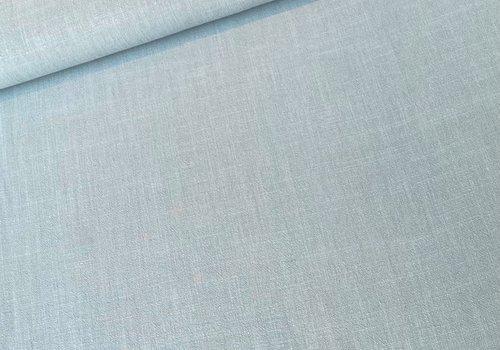 De Stoffenkamer Linen Mix Minty Blue