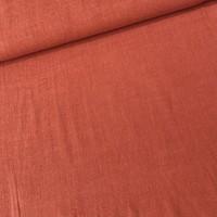 Linen Mix Brick/Coral