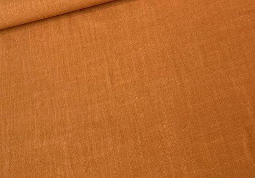 De Stoffenkamer Linen Mix Chestnut