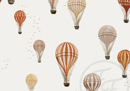 FF Tricot Hot Air Balloons