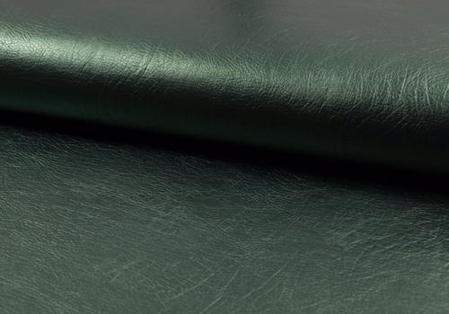 De Stoffenkamer Faux-Leather Metallic Green