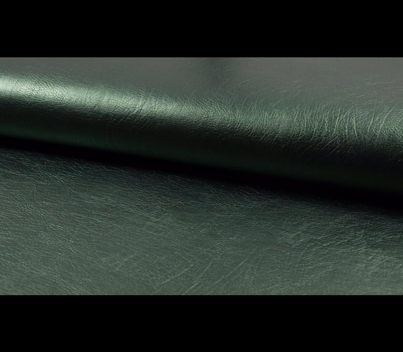 Faux-Leather Metallic Green