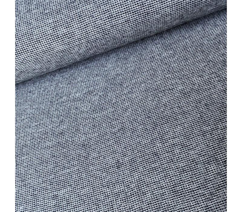 Recycle Jacquard knit - Black