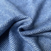 Recycle Jacquard knit - Blue