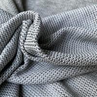 Recycle Jacquard knit - Khaki