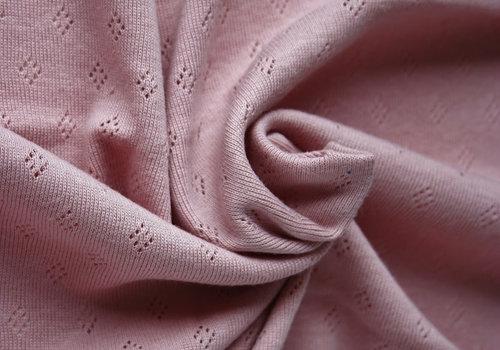 Stenzo Ajour Tricot Pointelle - roze