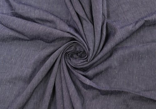 De Stoffenkamer Linen indigo Stripes