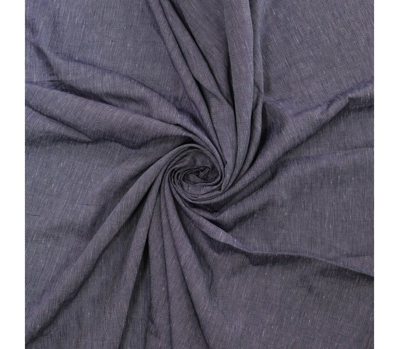 Linen indigo Stripes