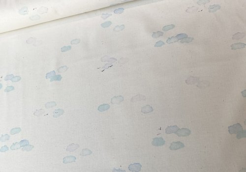 Robert Kaufman Cotton Pastel Clouds