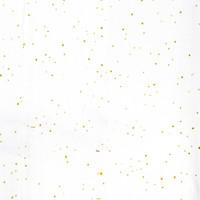 Cotton Spicks Gold - White