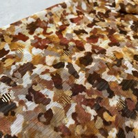 Soft blouse Metallic Leopard rusty