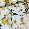 Cotton Ecru Lemons